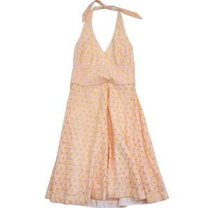 Lilly Pulitzer Eyelet Halter Dress